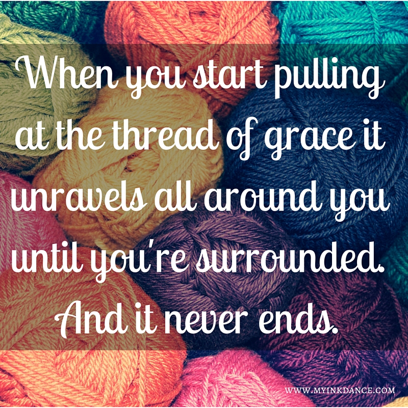 Grace is like a thread