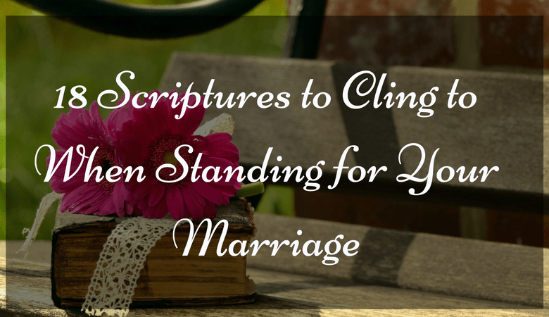 Standing for your marriage, marriage restoration