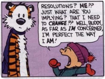 setting goals cartoon