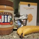 Peanut Butter Chocolate Banana Boats