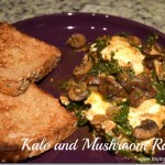 Mushroom, Kale, and Poached Egg Ragout