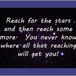Husband Wisdom: Always Reach for the Stars