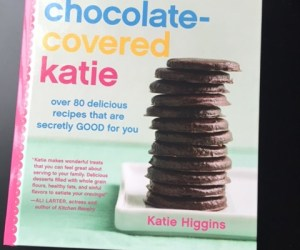 Chocolate covered katie cookbook cover