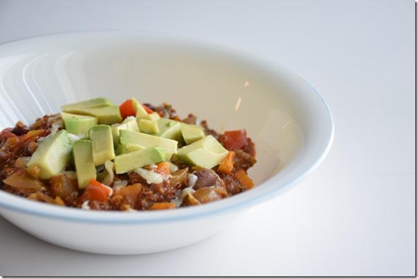 Quinoa enchilada 3