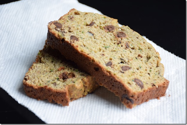 Chocolate Chip Zucchini Banana Bread 2