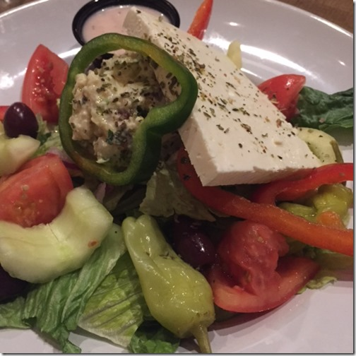 Greek salad - Acropolis