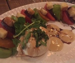Buratta salad at The Mill St. Petersburg, FL