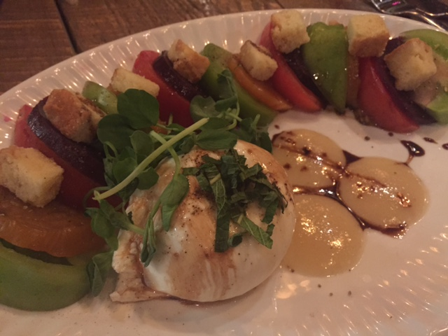 Buratta salad at The Mill St. Petersburg, FL