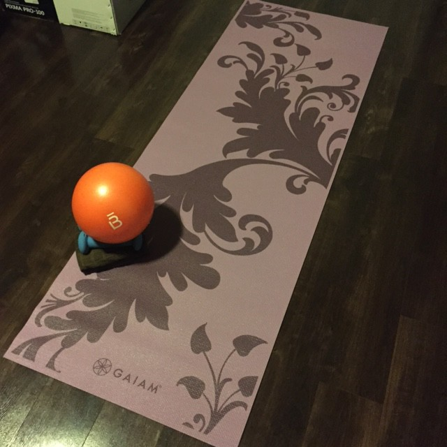 Barre3 online at home setup