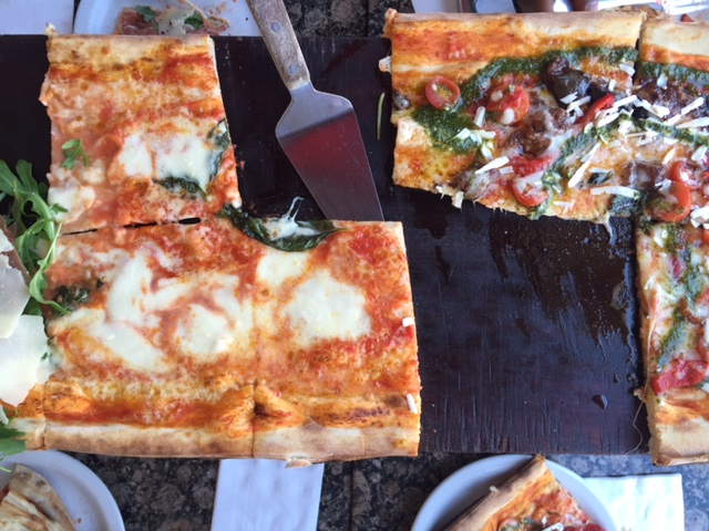 Pizza at Made in Italy in Venice, Florida