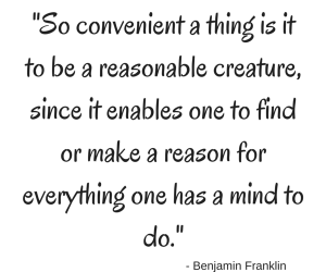 Loophole quote - Benjamin Franklin