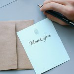 Thank You Cards – Yay or Nay?