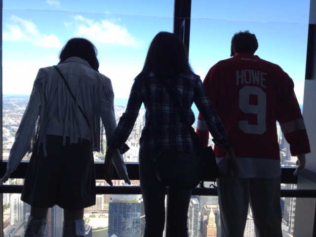 Willis Tower - Ferris Bueller characters