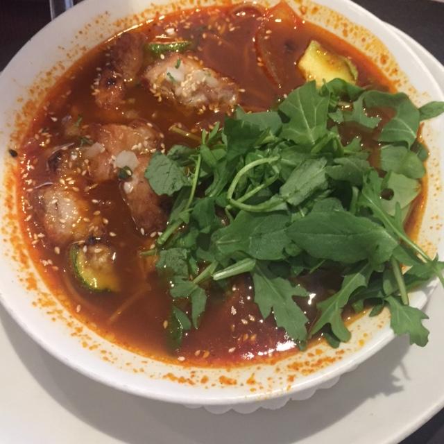 Xoco pork belly caldo - Chicago