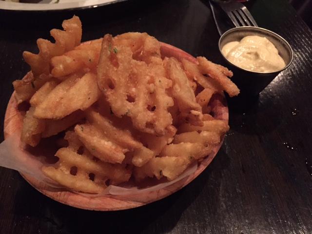 Grange Hall Burger Bar waffle fries