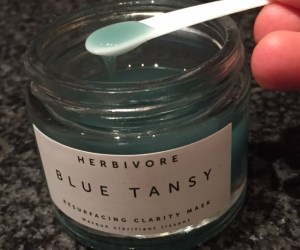 Herbivore Blue Tansy Mask