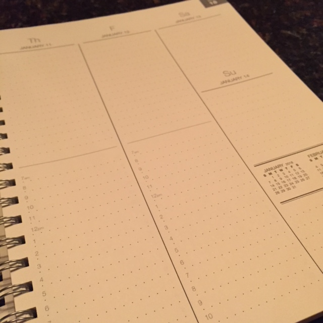 Essential planner