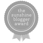 Weekend Recap + Sunshine Blogger Award