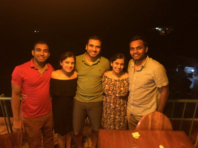 Group picture - Manuel Antonio, Costa Rica