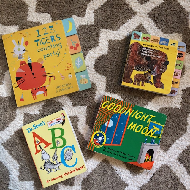 Toddler board books
