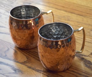 Moscow Muled copper mugs