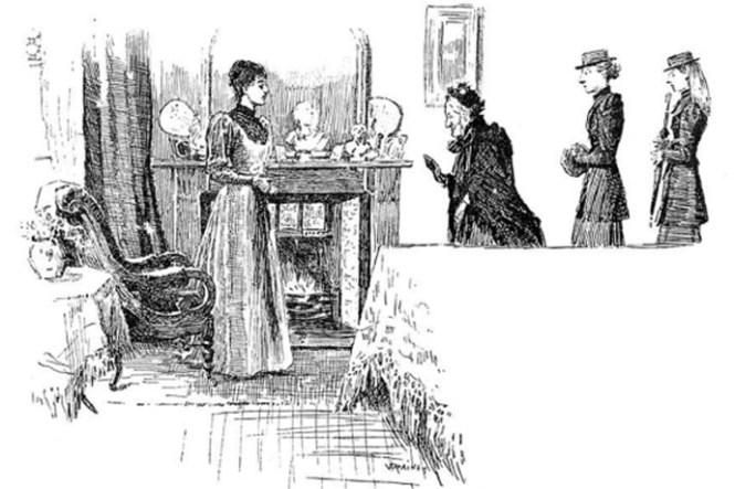 victoriaanse visite