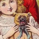 Een heel victoriaans hondje