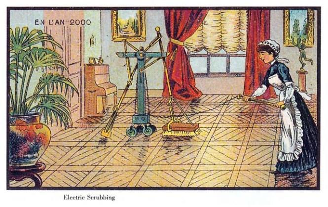 elektrisch-vloer-schrobben-21ste-eeuw-futuristisch