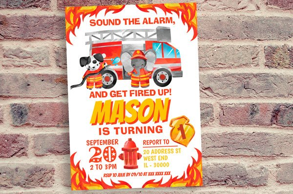 Firefighter Invitation