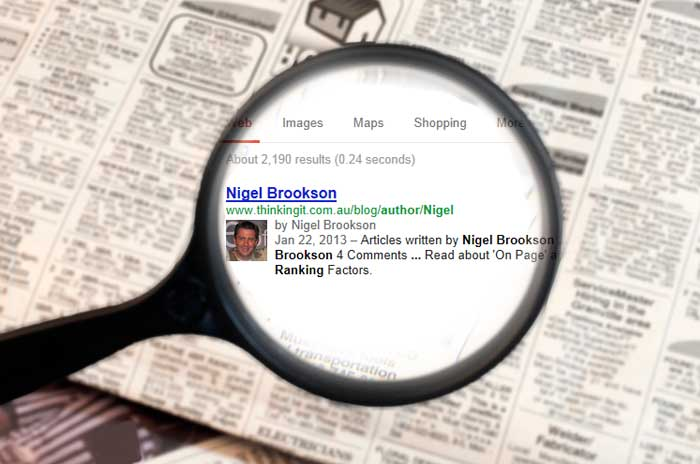 Read what Google Authorship is all about