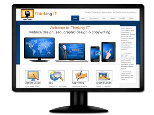 Visit website design company Thinking IT