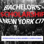 New School in New York offers Full Bachelors Scholarships