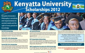 Kenyatta University Scholarships
