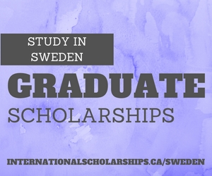 The Swedish Institute Study Scholarships