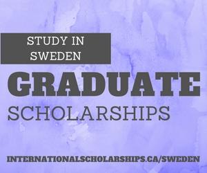 The Swedish Institute Study Scholarships