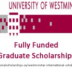 University of Westminster International Graduate Scholarships