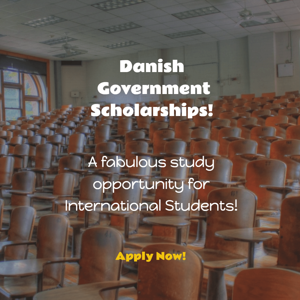 Danish Government Scholarships (International Students)