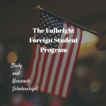 Fulbright Program – Foreign Students