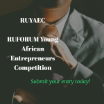 RUFORUM Young African Entrepreneurs Competition (RUYAEC)