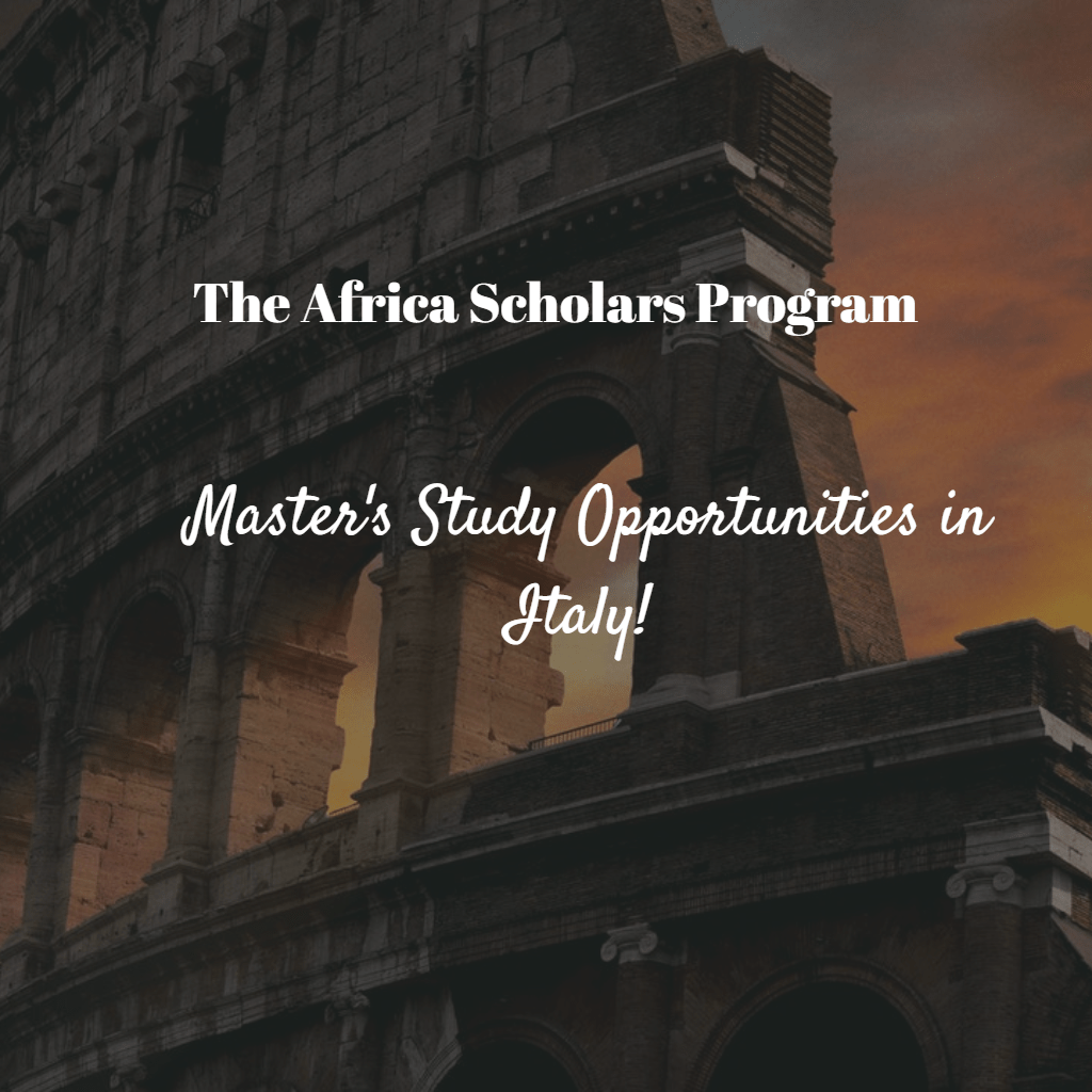 Universitá Cattolica del Sacro Cuore Africa Scholars Program
