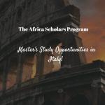 Universitá Cattolica del Sacro Cuore Africa Scholars Program