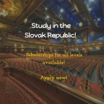 Slovak Government Scholarships