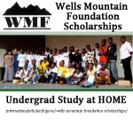 Wells Mountain Foundation Undergrad Scholarships