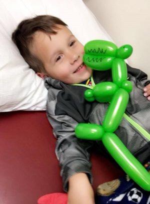 A Boy Gets His Dinosaur