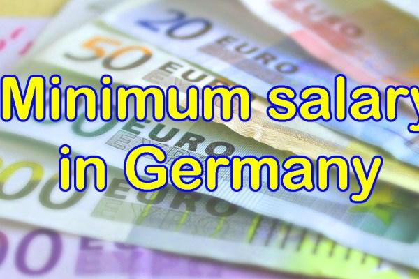 Minimum salary in Germany