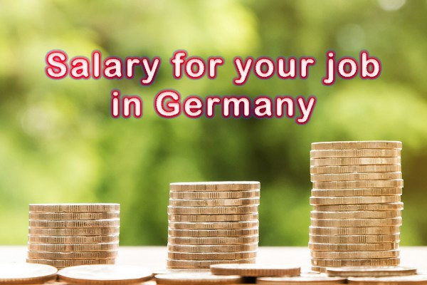 Salary for your job in Germany