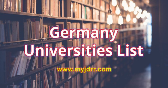 Germany Universities List