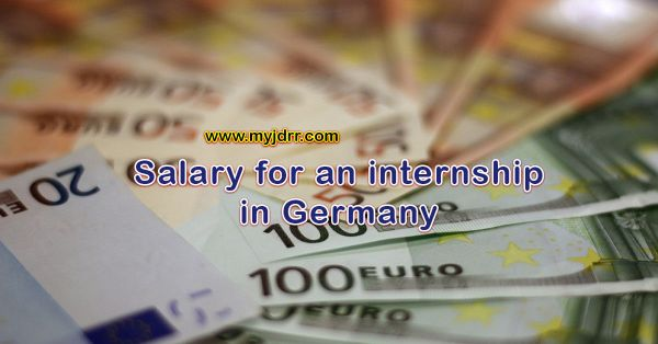 Salary for an internship in Germany