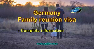 Germany family reunion visa