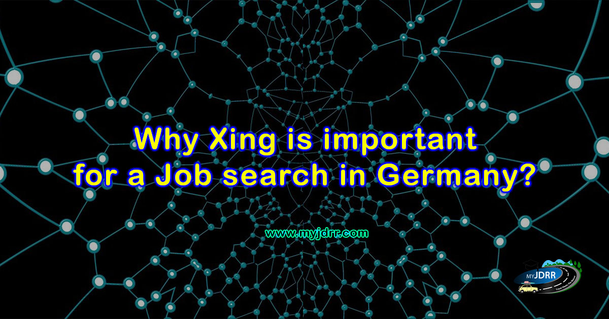 Why Xing is important for a job search in Germany